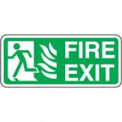 Safe Safety Sign - Fire Door Left 088